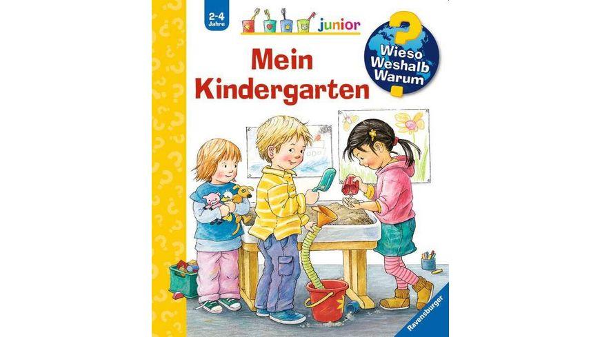 Ravensburger Buch Wieso Weshalb Warum Junior Mein Kindergarten