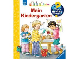 Ravensburger Wieso Weshalb Warum junior Mein Kindergarten Band 24