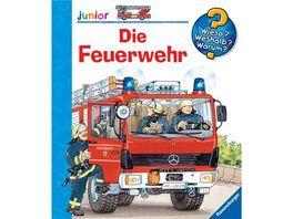 Ravensburger Wieso Weshalb Warum Junior Die Feuerwehr