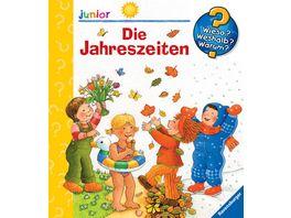 Ravensburger Wieso Weshalb Warum junior Die Jahreszeiten Band 10