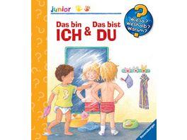 Ravensburger Buch Wieso Weshalb Warum Junior Das bin ich Das bist du