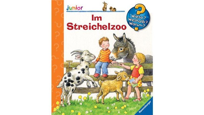 Ravensburger Wieso Weshalb Warum Junior Im Streichelzoo