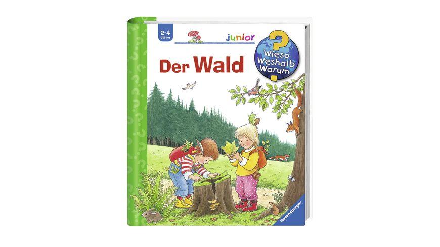 Ravensburger Buch Wieso Weshalb Warum Junior Der Wald