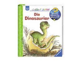 Ravensburger Wieso Weshalb Warum junior 25 Die Dinosaurier