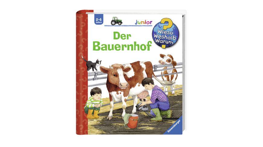 Ravensburger Buch Wieso Weshalb Warum Junior Der Bauernhof