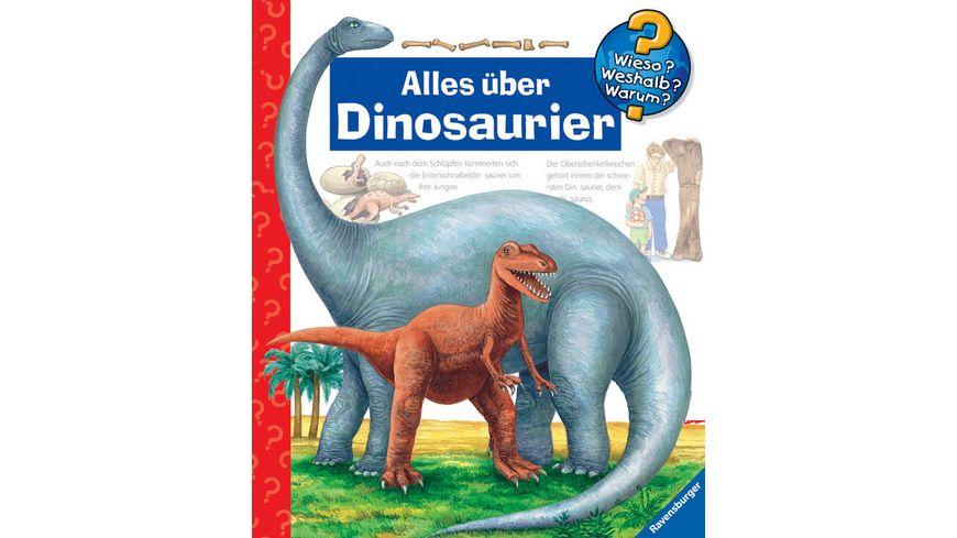 Ravensburger Buch Wieso Weshalb Warum Alles ueber Dinosaurier