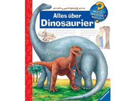 Ravensburger Wieso Weshalb Warum Alles ueber Dinosaurier Band 12