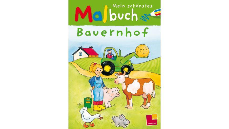 Buch Tessloff Mein schoenstes Malbuch Bauernhof