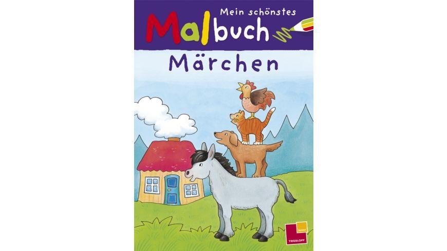 Buch Tessloff Mein schoenstes Malbuch Maerchen
