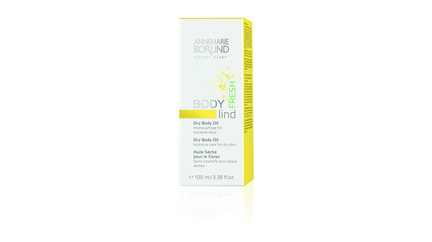 ANNEMARIE BOeRLIND Body Lind Fresh Dry Body Oil