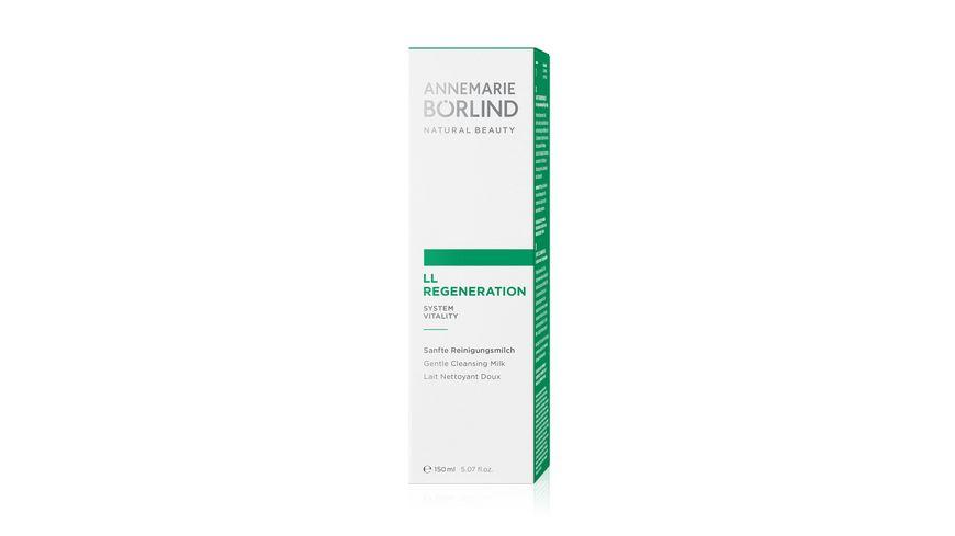 ANNEMARIE BOeRLIND LL REGENERATION Sanfte Reinigungsmilch