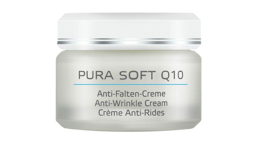 ANNEMARIE BOeRLIND Beauty Specials Pura Soft Q10 Anti Falten Creme