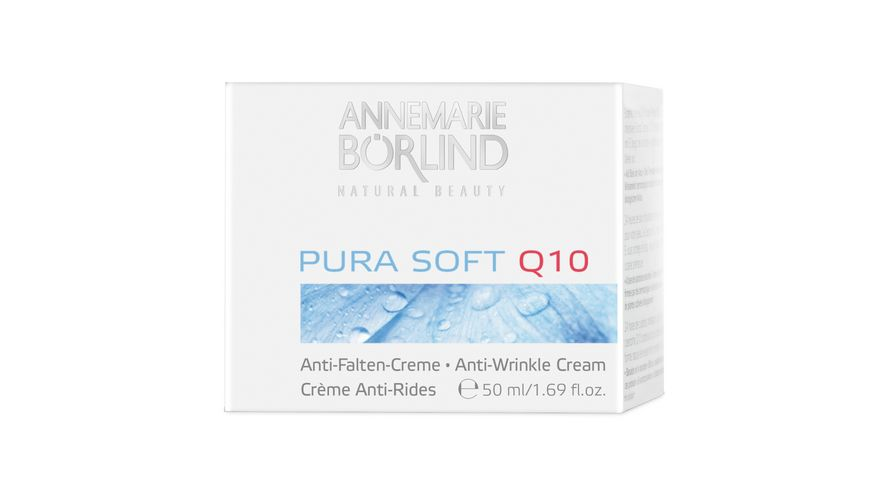 ANNEMARIE BOeRLIND PURA SOFT Q10 Anti Falten Creme