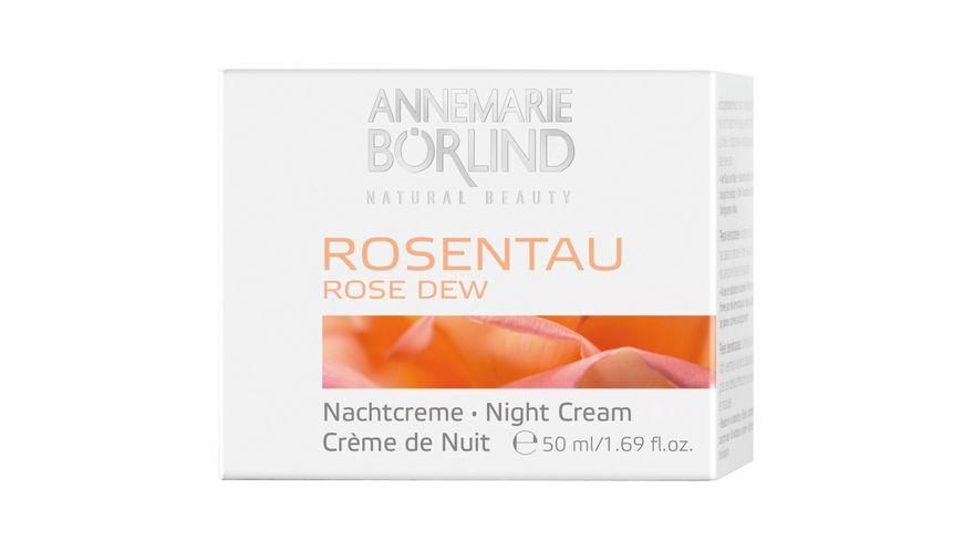 ANNEMARIE BOeRLIND Rosentau Nachtcreme