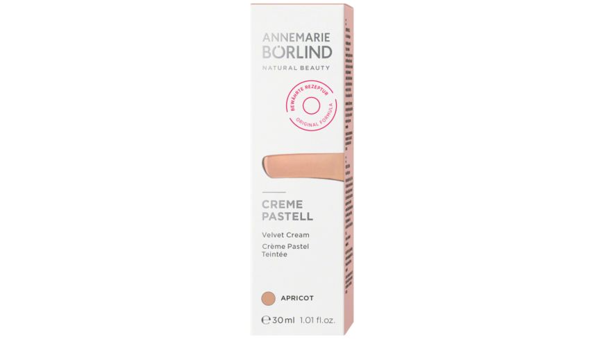 ANNEMARIE BOeRLIND CREME PASTELL Apricot