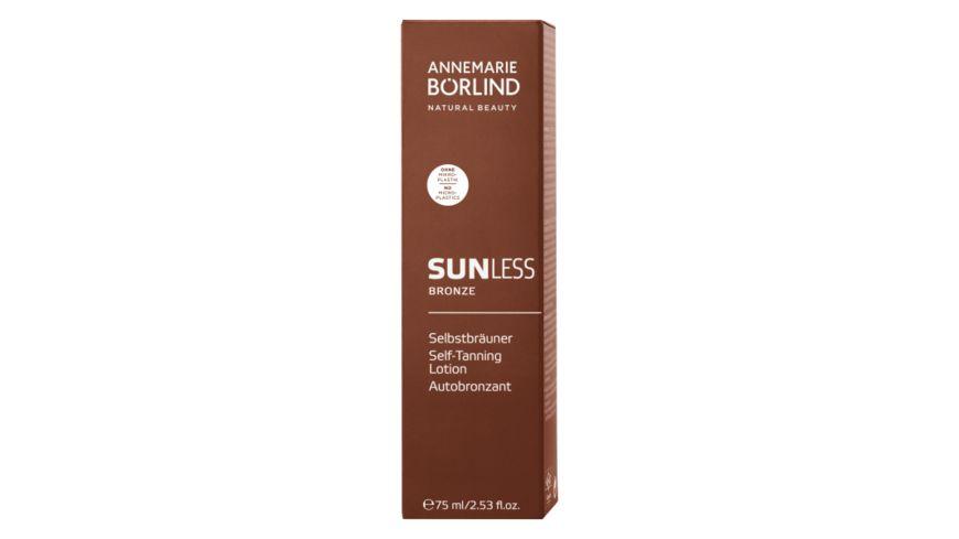 ANNEMARIE BOeRLIND Sun Sunless Bronze Selbstbraeuner