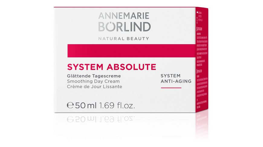 ANNEMARIE BOeRLIND SYSTEM ABSOLUTE Glaettende Tagescreme
