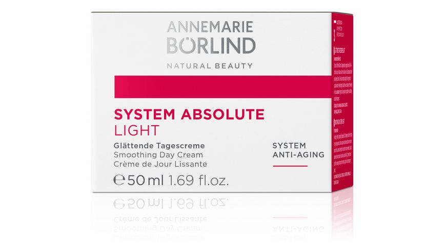 ANNEMARIE BOeRLIND SYSTEM ABSOLUTE Glaettende Tagescreme light