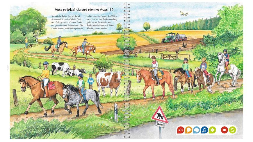Ravensburger Buch Wieso Weshalb Warum tiptoi Die Welt der Pferde und Ponys