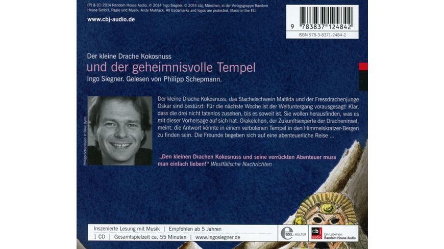 Drache Kokosnuss Und Der Geheimnisvolle Tempel