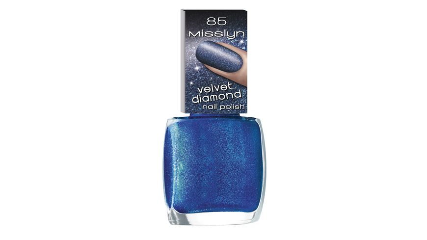 Misslyn Velvet Diamond Nail Polish