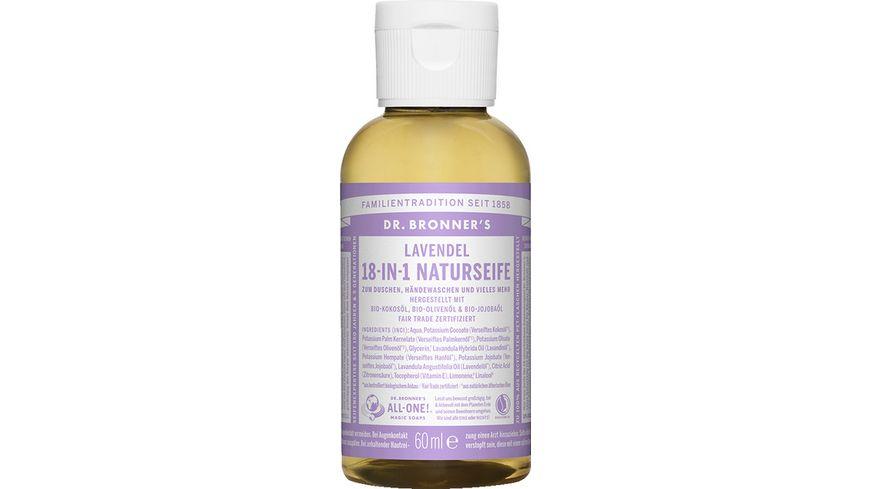DR BRONNER S natuerliche Fair Trade Fluessigseife Lavendel