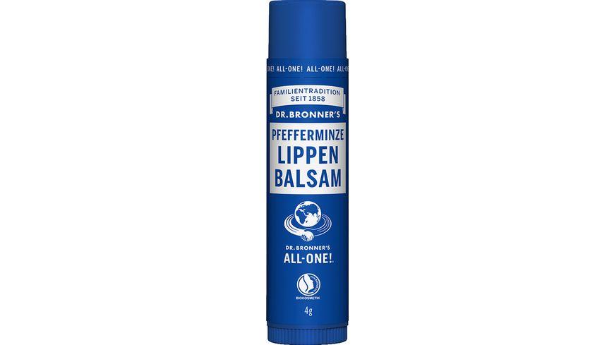 DR BRONNER S natuerlicher Fair Trade Lip Balm Pfefferminze