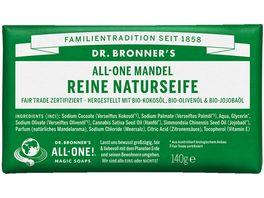 DR BRONNER S natuerliche Fair Trade Stueckseife Mandel
