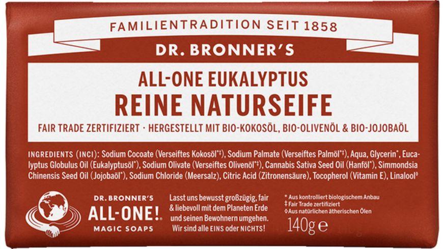 DR BRONNER S natuerliche Fair Trade Stueckseife Eukalyptus