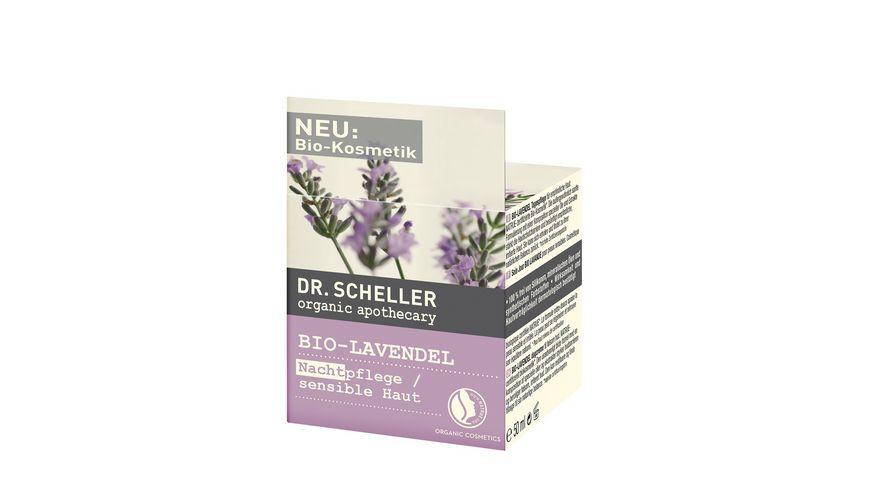 Dr Scheller Apothecary Bio Lavendel Nachtpflege