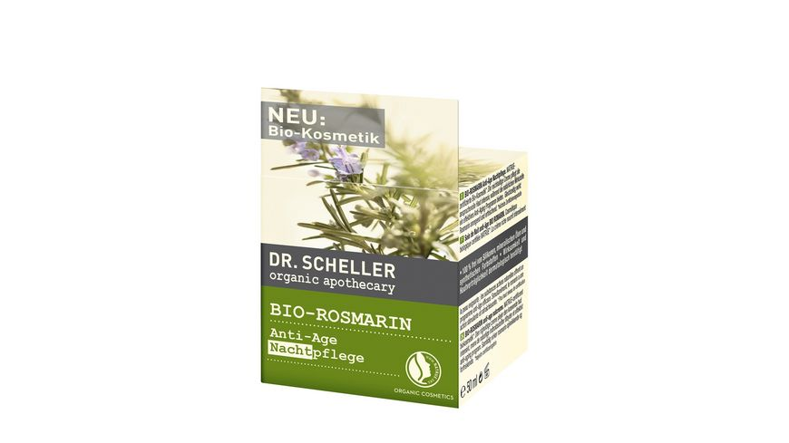 Dr Scheller Apothecary Bio Rosmarin Nachtpflege