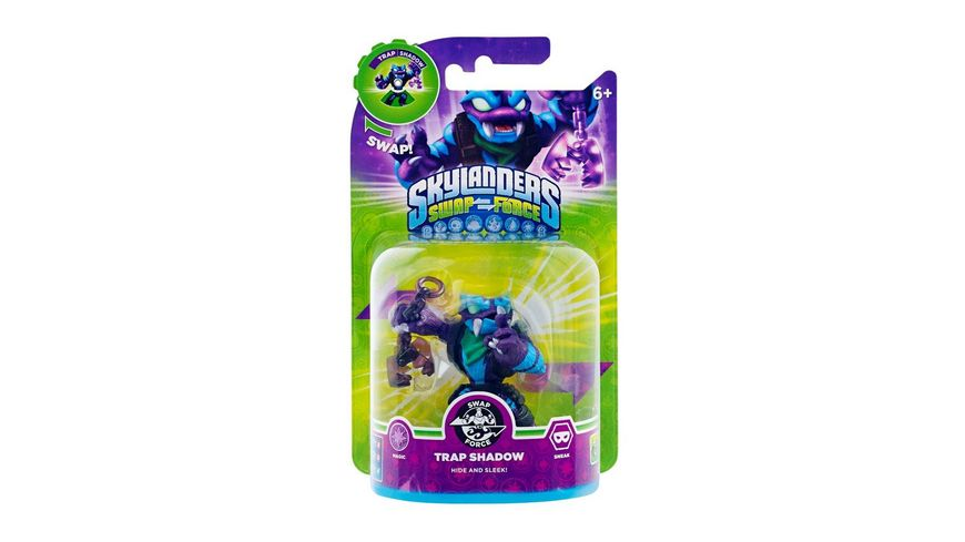 Skylanders Swap Force Einzelfigur Trap Shadow