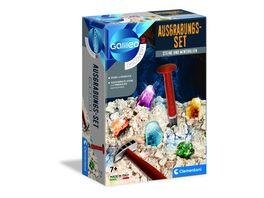 Clementoni Galileo Ausgrabungs Set Steine und Mineralien