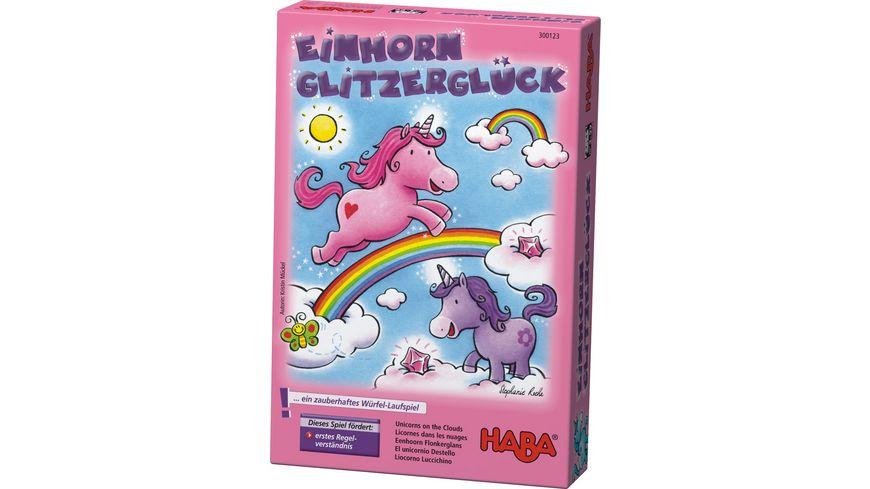 HABA Einhorn Glitzerglueck
