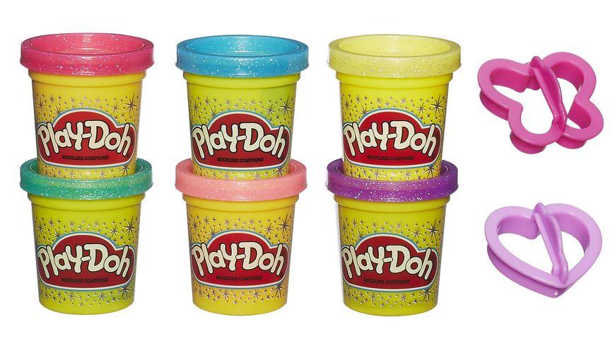 Hasbro Play Doh Glitzerknete