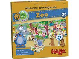 HABA Mein erstes Wimmelpuzzle Zoo