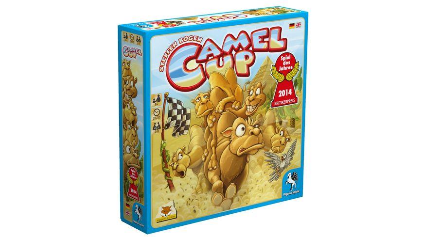 Pegasus Familienspiele Camel Up Spiel des Jahres 2014