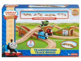 Thomas und seine Freunde Holzeisenbahnen Verwandlungs Bruecke
