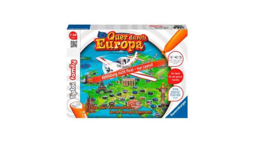 Ravensburger Spiel tiptoi Quer durch Europa