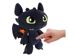 Spin Master Dragon 2 Deluxe Toothless Funktionspluesch