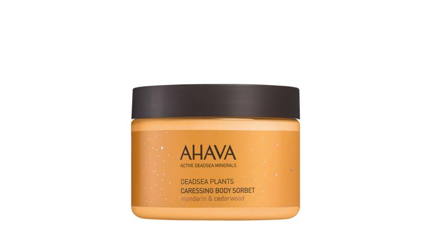 AHAVA Caressing Body Sorbet mandarin cedarwood