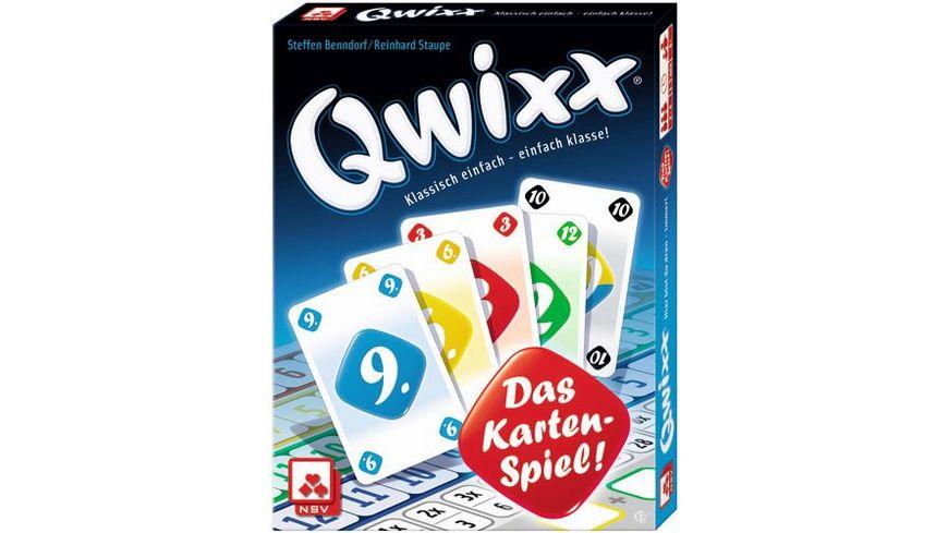 Nuernberger Spielkarten Kartenspiel Qwixx