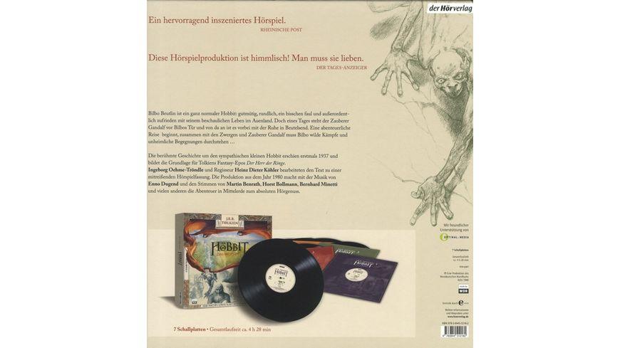 Der Hobbit Das Hoerspiel 180 Gramm Vinyl Edition
