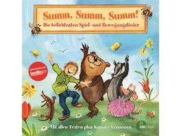 Summ Summ Summ Beliebtesten Spiel Bewegungslieder