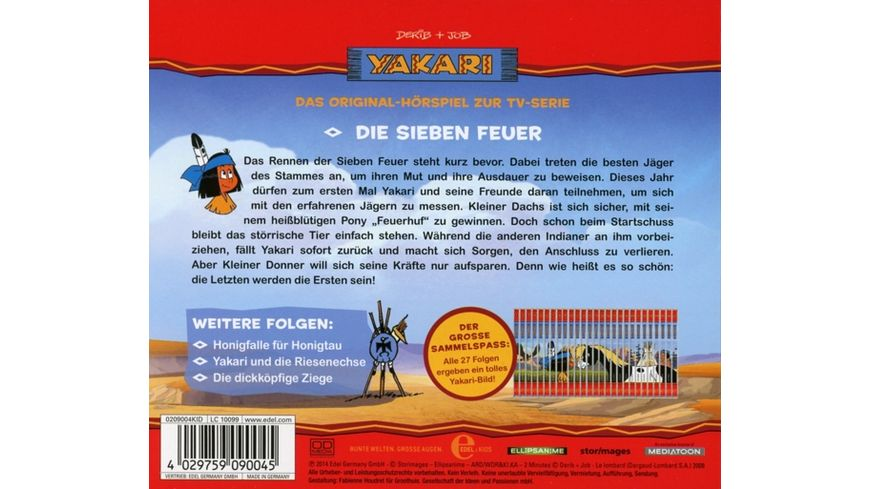 21 Original Hoerspiel z TV Serie Die Sieben Feuer