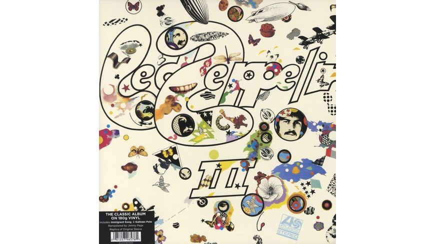 Led Zeppelin III 2014 Reissue