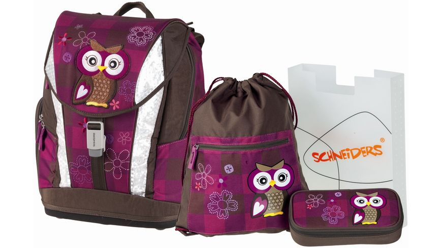 Schulranzenset Toolbag Soft 4tlg Olivia the Owl