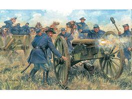 Italeri 6038 Figuren 1 72 Union Artillerie