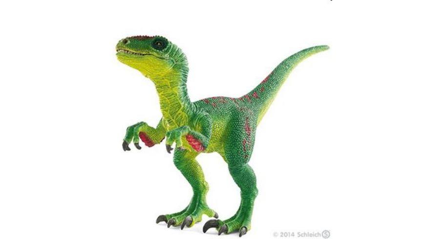 Schleich Dinosaurier Velociraptor gruen