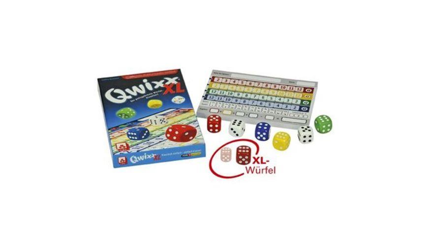 Nuernberger Spielkarten Wuerfelspiel Qwixx XL